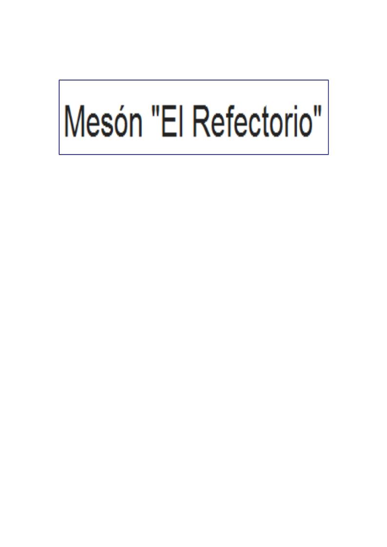 Mesón El Refectorio