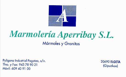 Marmolería Aperribay