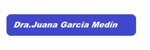 Dra. María Juana García Medín- Médico Psiquiatra