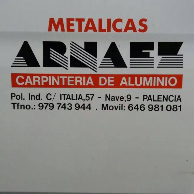 Carpintería de Aluminio Metálicas Arnáez
