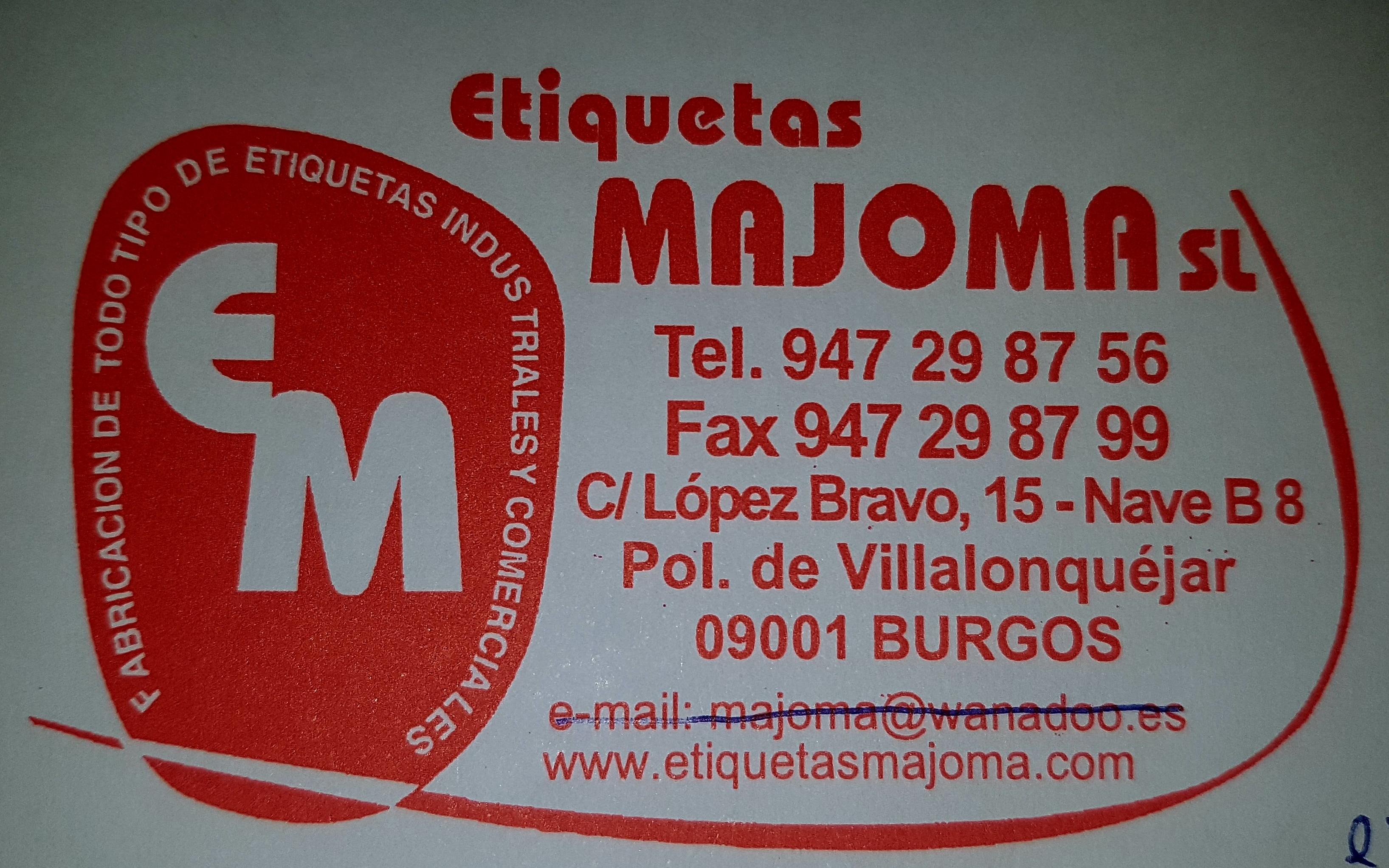 ETIQUETAS MAJOMA S.L.