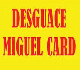 Miguel Card Plasencia - Desguace Y Servicio De Grúa