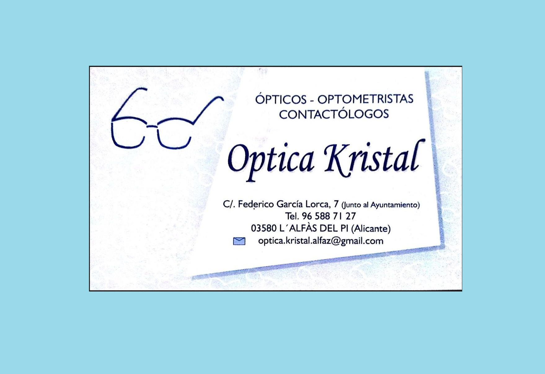 Óptica Kristal Alfaz