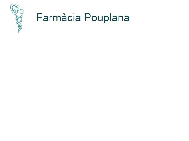 Farmacia Pouplana