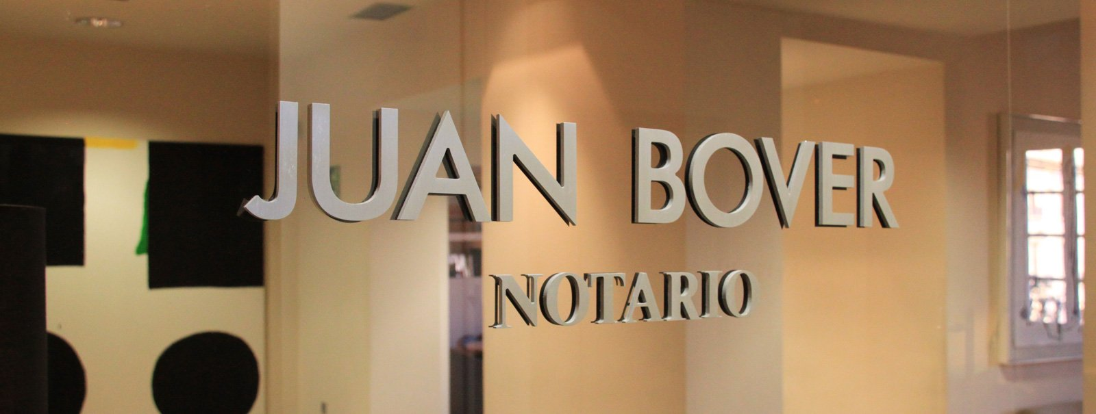 Notaría Juan Bover