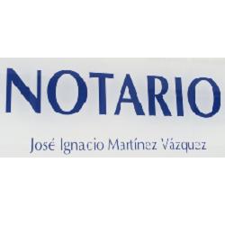Notario José Ignacio Martínez Vázquez