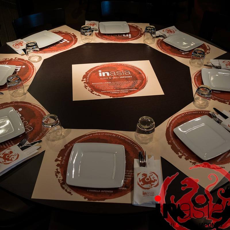 Inasia Sushi & Grill Japonés 16