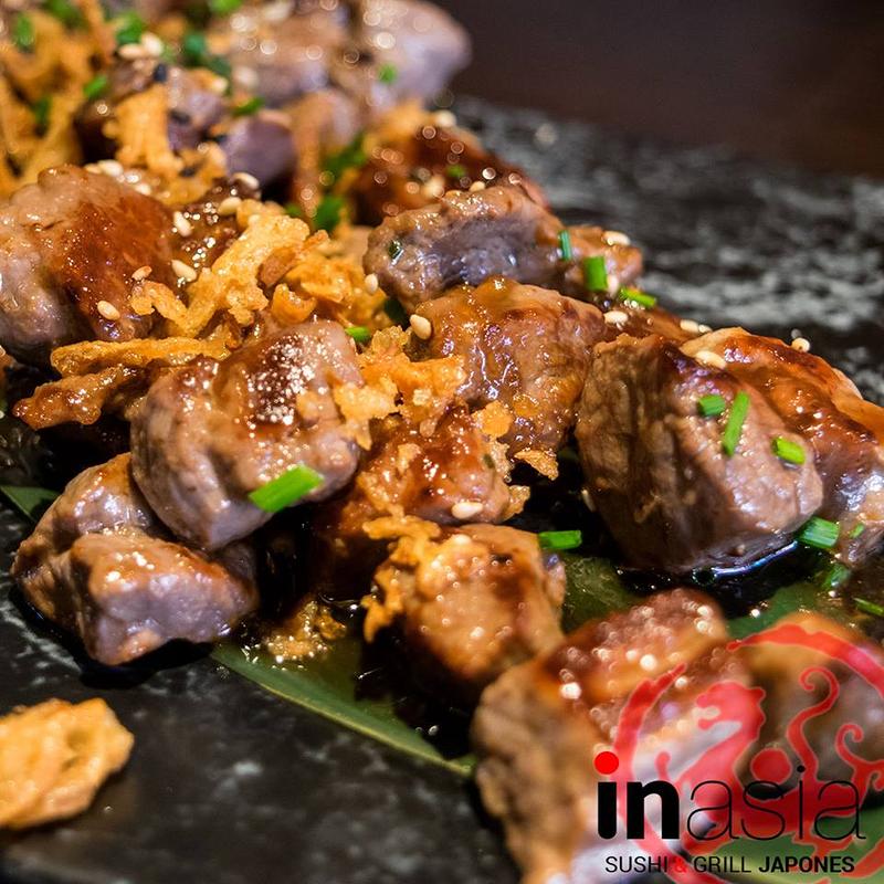 Inasia Sushi & Grill Japonés COCINA ASIÁTICA