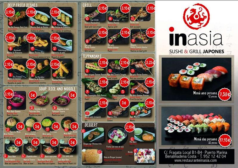 Inasia Sushi & Grill Japonés 6