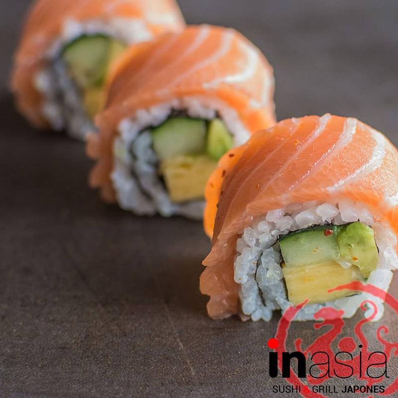 Inasia Sushi & Grill Japonés 23