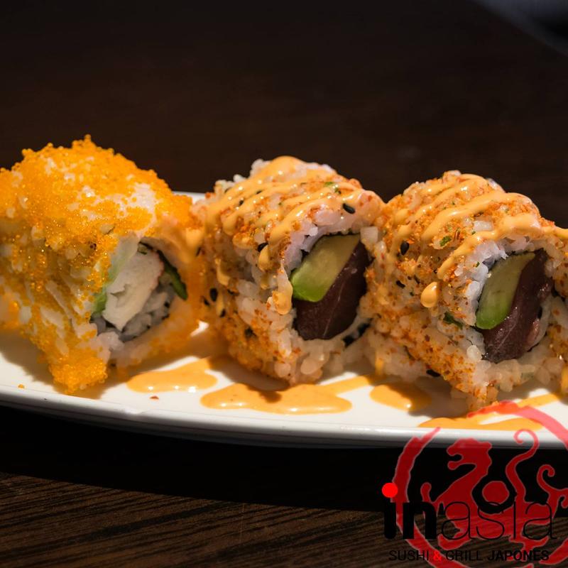 Inasia Sushi & Grill Japonés 27