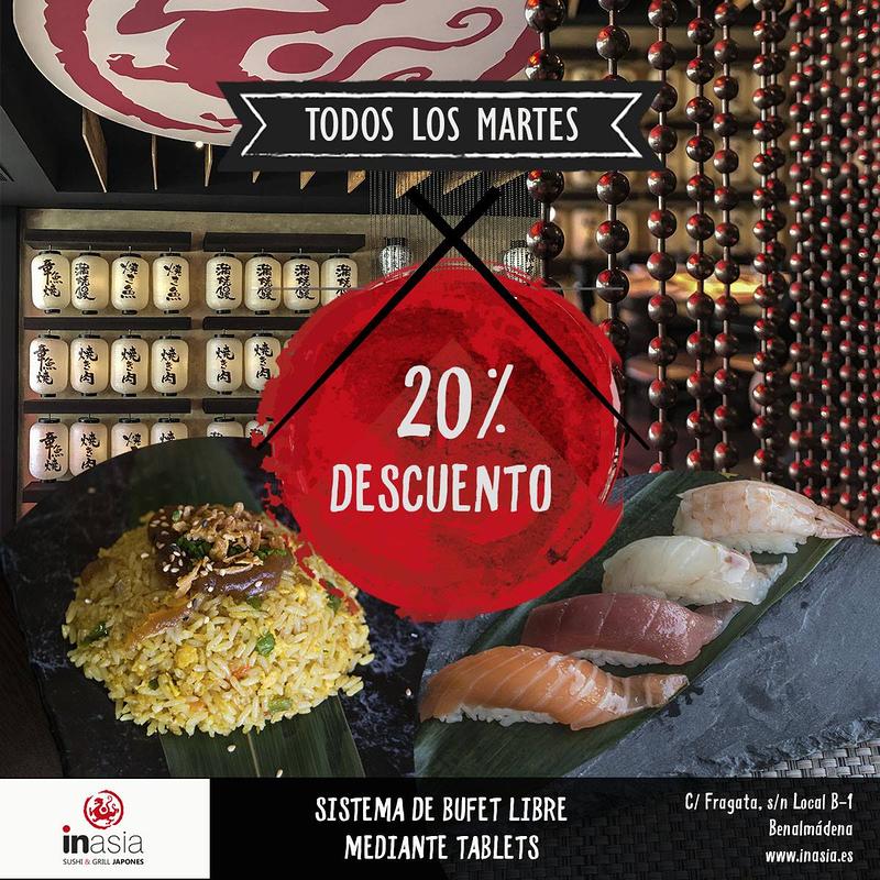 Inasia Sushi & Grill Japonés 11