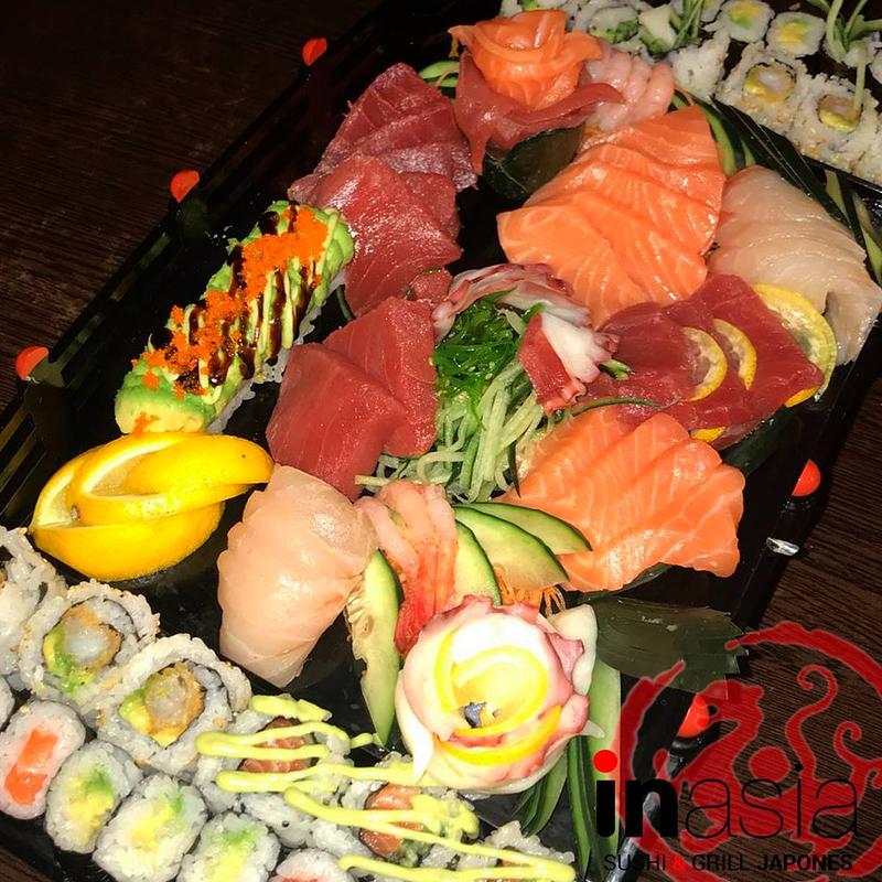 Inasia Sushi & Grill Japonés 5