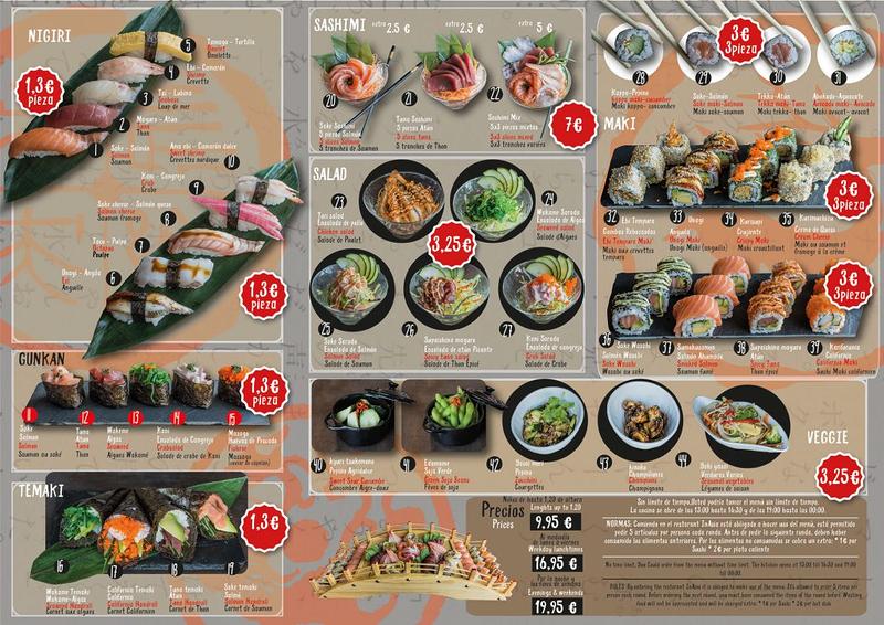 Inasia Sushi & Grill Japonés 7