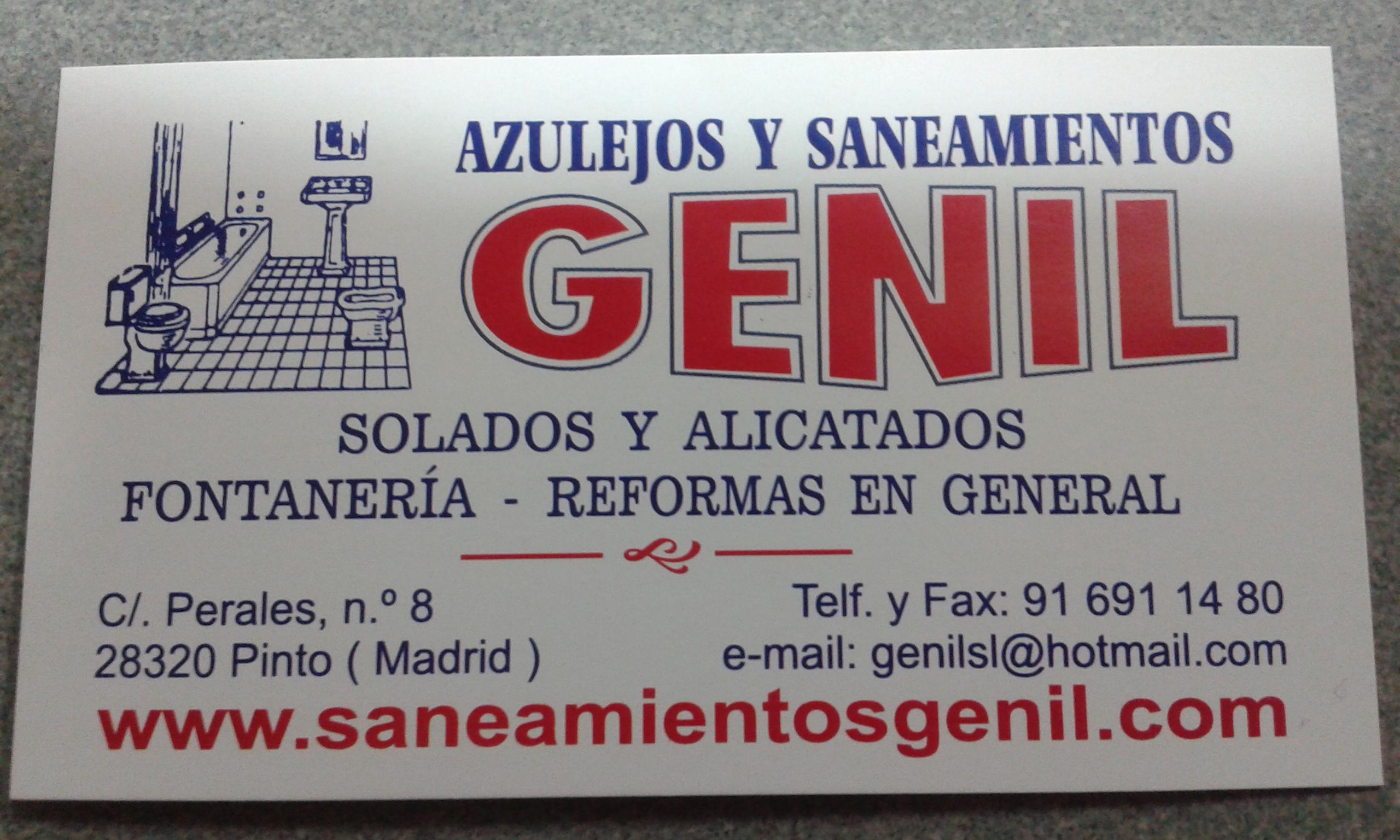 Azulejos Y Saneamientos Genil S.l.
