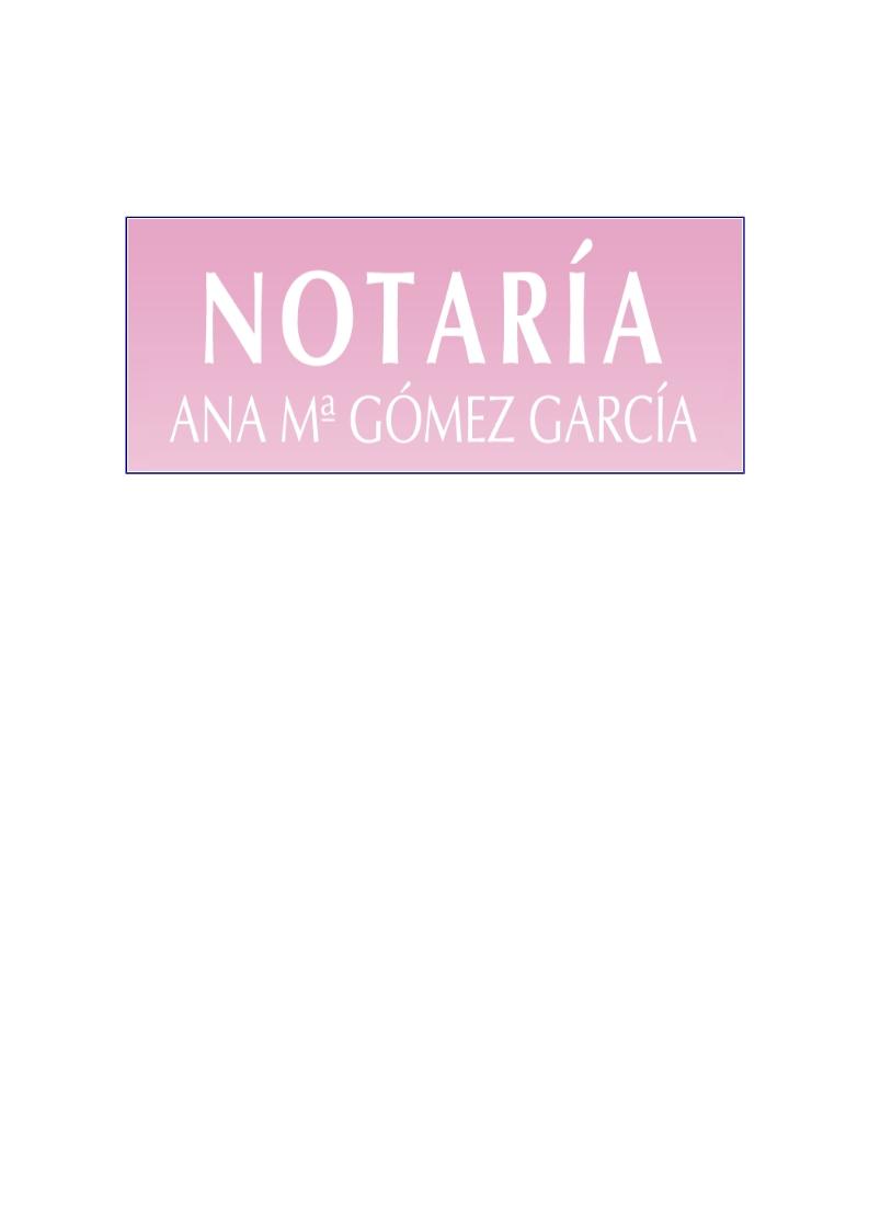 Notaría Ana María Gómez García