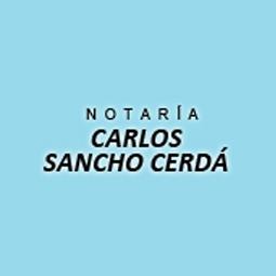 Notaría Carlos Sancho Cerdá