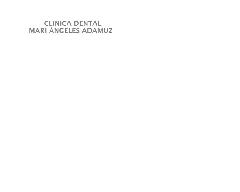 Clínica Dental Mª Ángeles Adamuz Salas