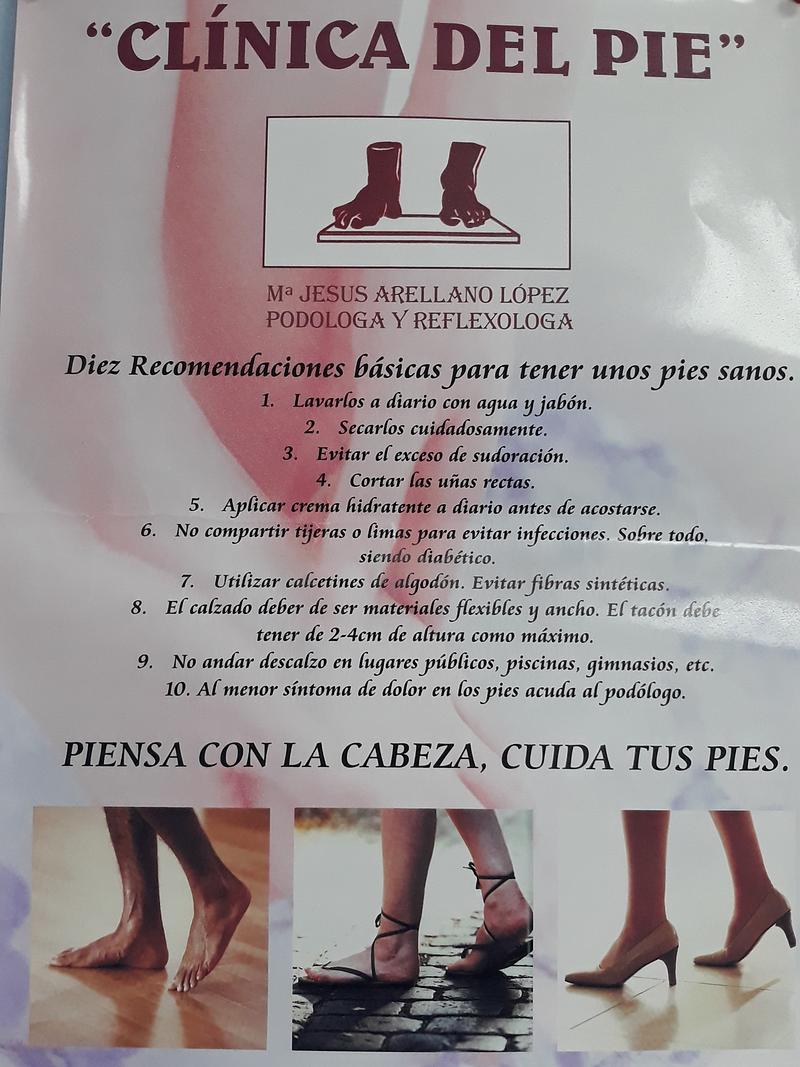 Clínica Del Pie Maria Jesús Arellano López 7