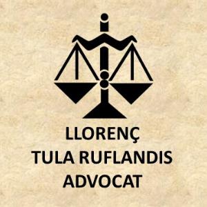 Llorenç Tula Rufiandis: Advocat