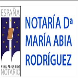 Notaría Dª María Abia Rodríguez