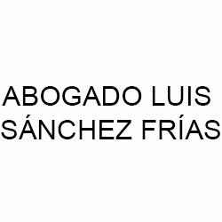 Abogado Luis Sánchez Frías