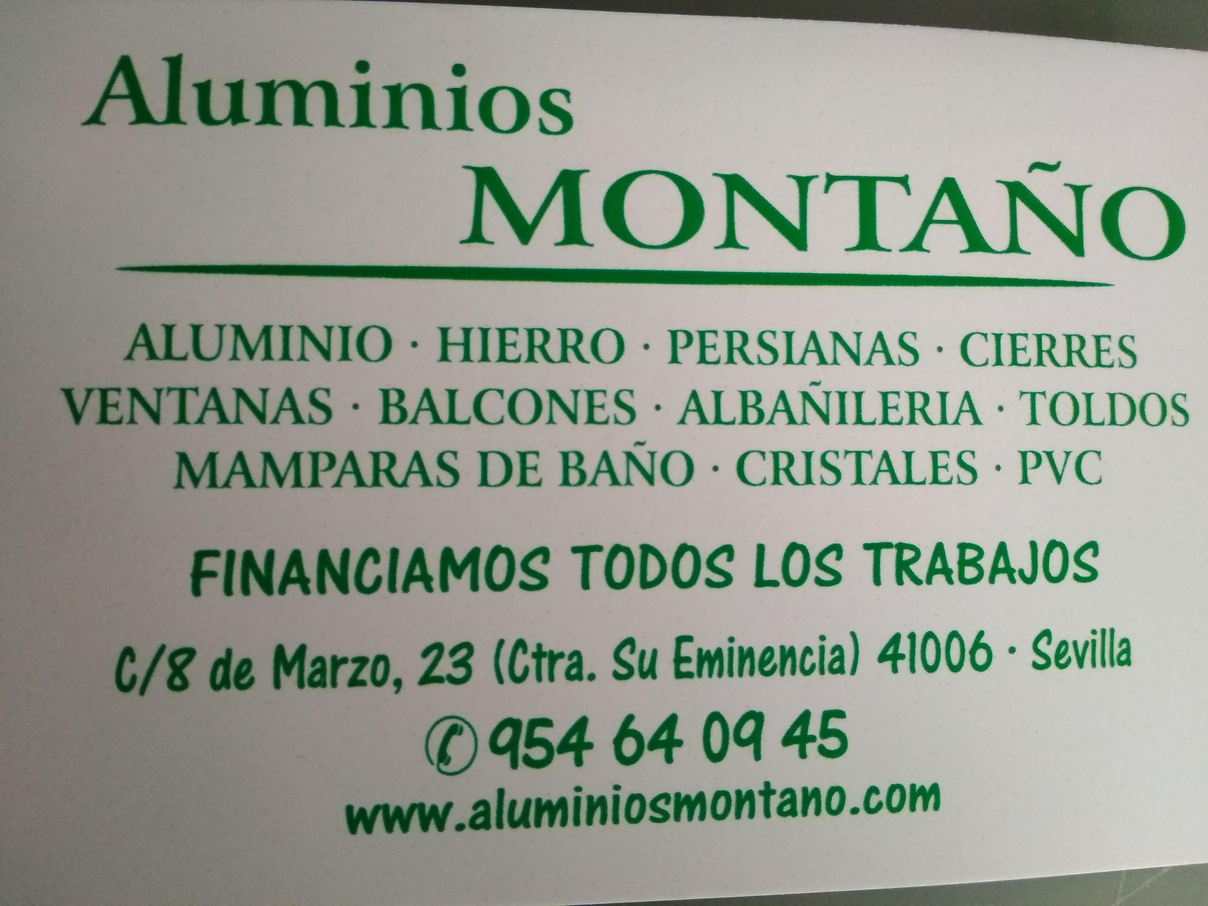 Aluminios Montaño