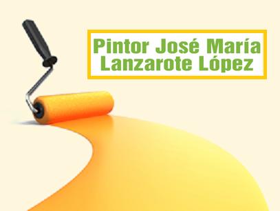 Pintor José María Lanzarote López