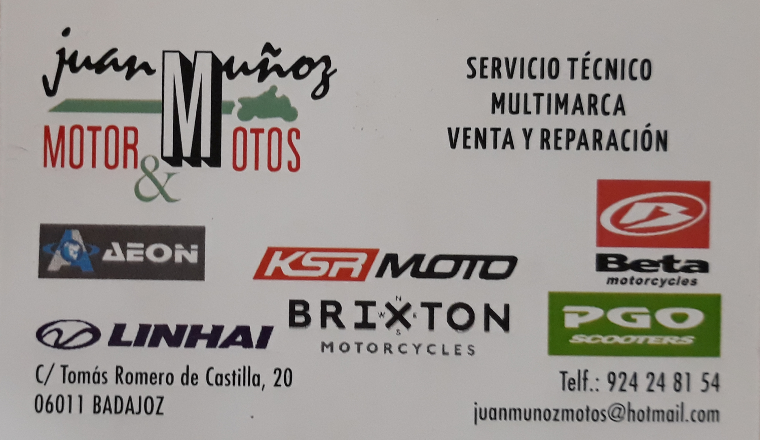 Juan Muñoz Motor Y Motos