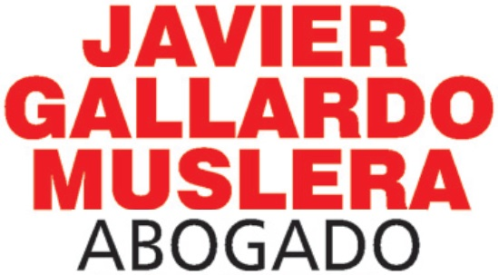 Abogado Javier Gallardo Muslera.