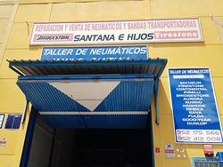Imagen de Neumáticos Y Bandas Transportadoras Santana E Hijos S.L.