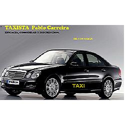 Taxista Pablo Carreira Lois