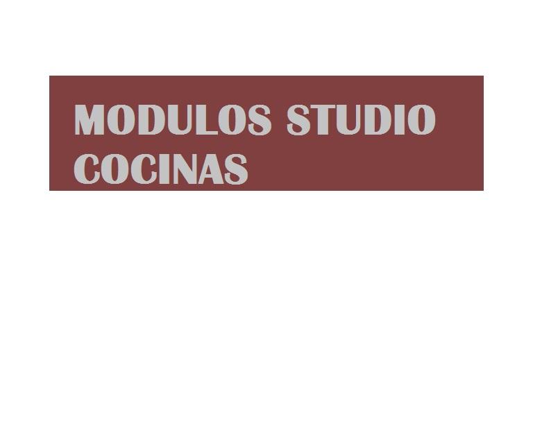 Módulos Studio Cocinas - Cáceres - Avenida Hernán Cortés, 60 ...