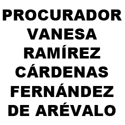 Procurador Vanesa Ramírez - Cárdenas Fernández de Arévalo