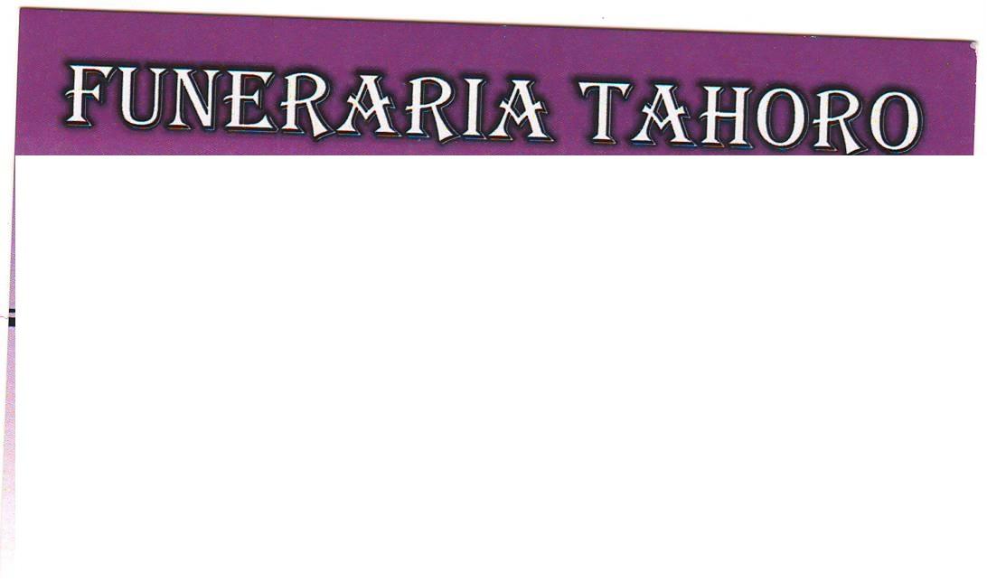 Funeraria Tahoro