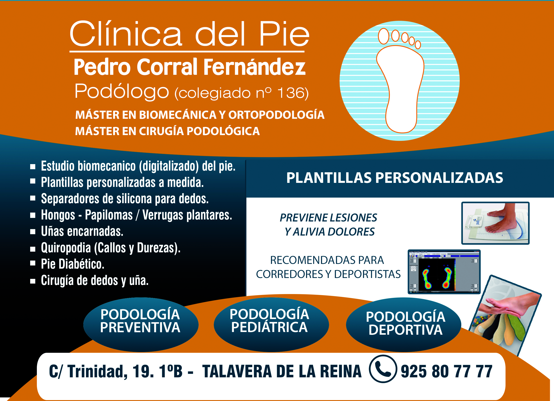 Clinica Del Pie Pedro Corral Fernandez.