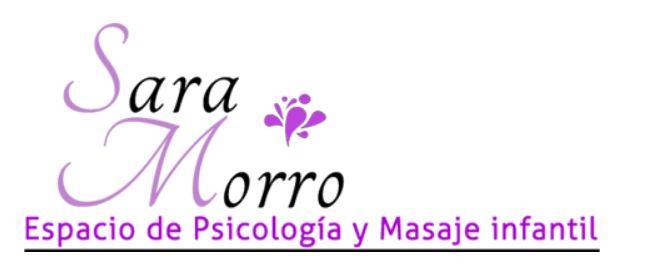 Espacio De Psicología Y Masaje Infantil Sara Morro
