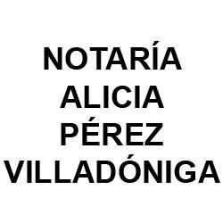 Notaría Alicia Pérez Villadóniga