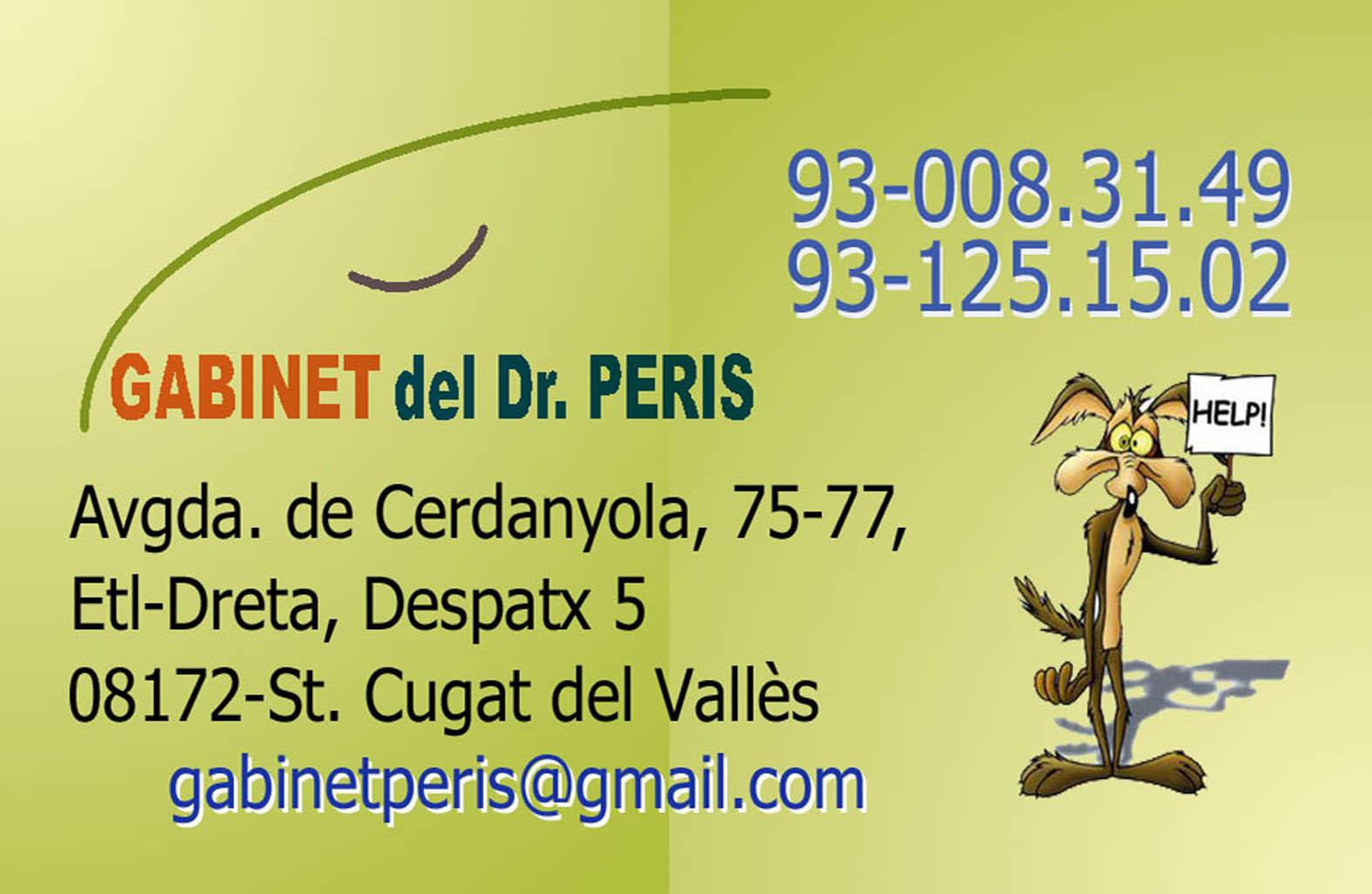 Gabinet del Dr. Peris