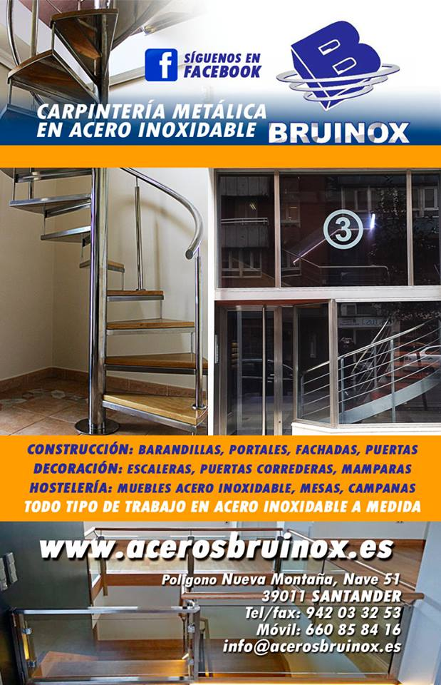 Bruinox ACEROS INOXIDABLES