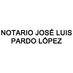 Notario José Luis Pardo López