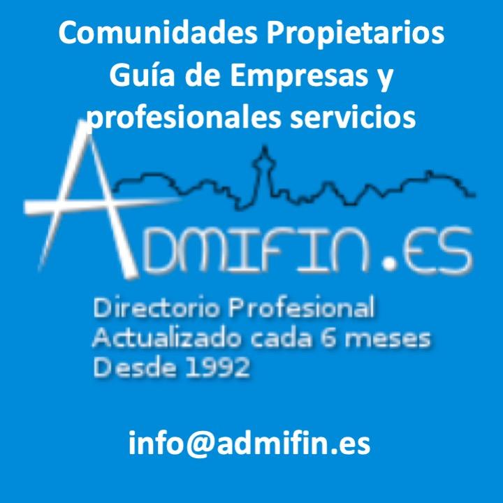 Admifin,S.L. Directorio profesionales para Administradores Fincas, y Comunidades Propietarios.