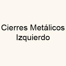 Cierres Metálicos Izquierdo