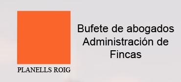 Administración De Fincas Planells Roig