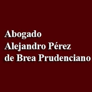 Abogado Alejandro Pérez De Brea Prudenciano