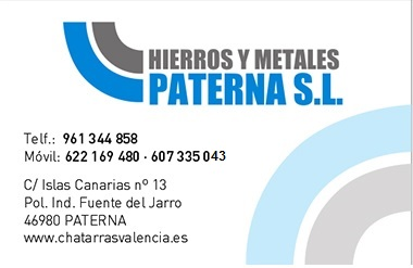 Hierros y Metales Paterna