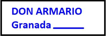 Don Armario Granada