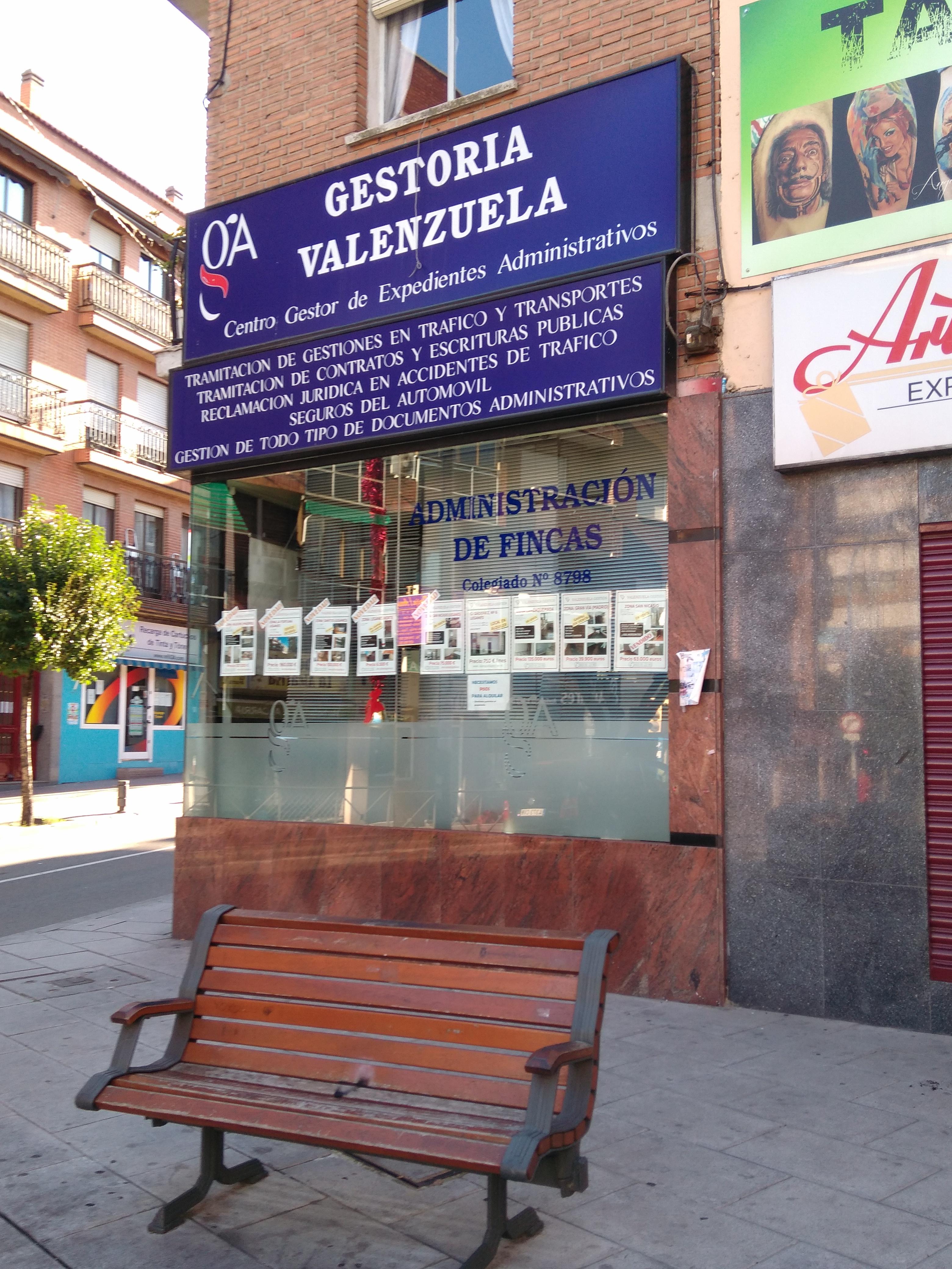 Gestor a valenzuela legan s av fuenlabrada 40 local - Herrero online particulares ...