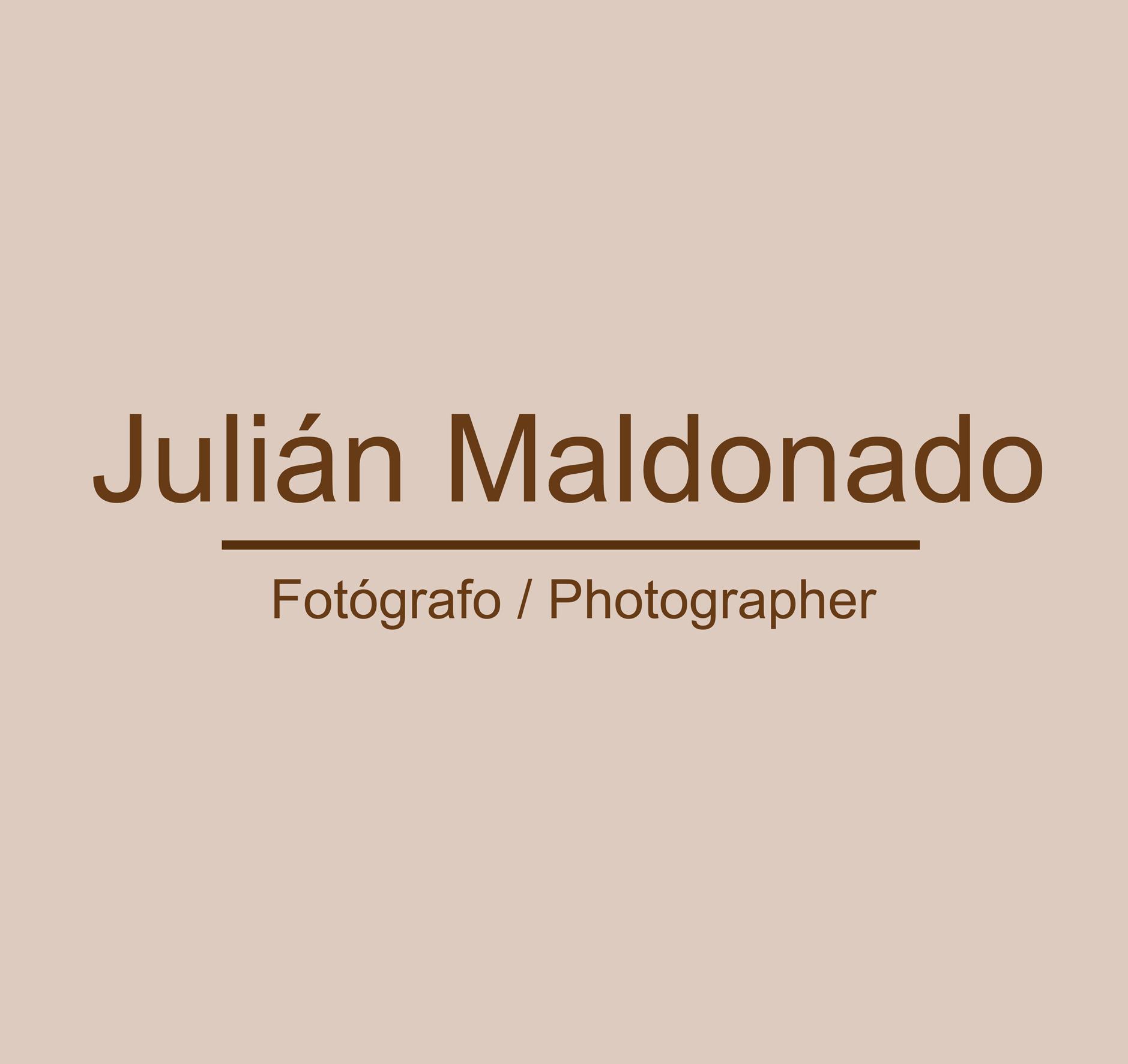 Fotógrafo Julián Maldonado