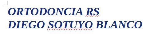 Ortodoncia RS, Diego Sotuyo Blanco